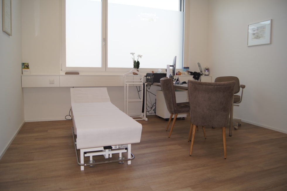 Ärztezentrum Adligenswil Behandlungszimmer